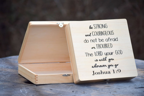 Personalized Wooden Prayer Box