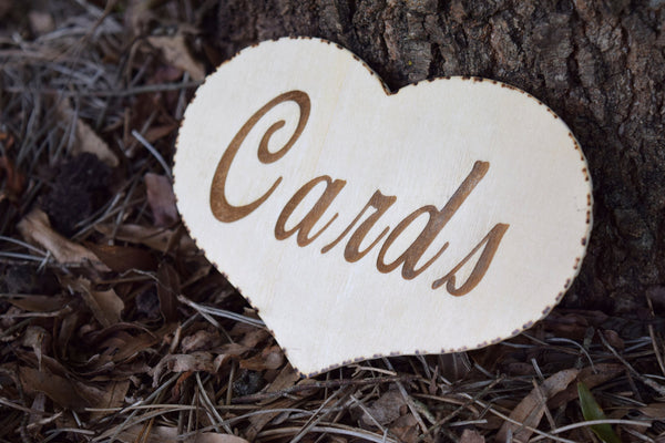 "6"" CARDS Heart"