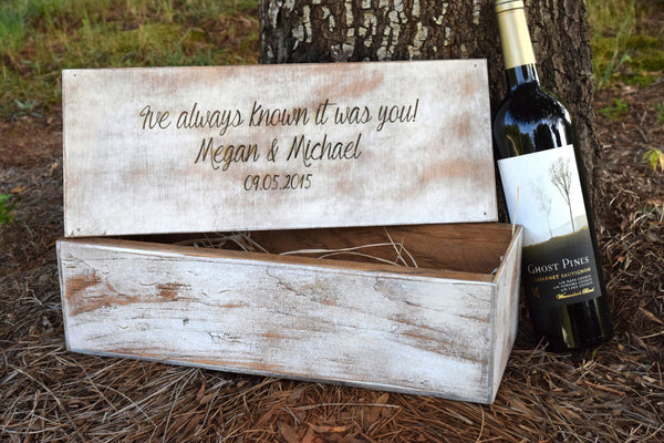 Hammer Shut Style Wedding Ceremony Wine Box