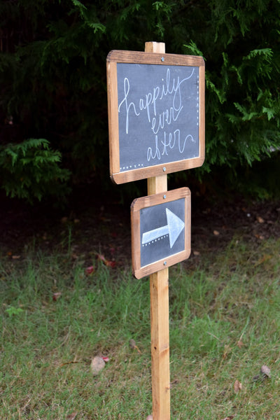 Chalkboards on 3ft Stake