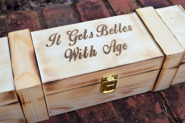 It Gets Better With Age Wine Box