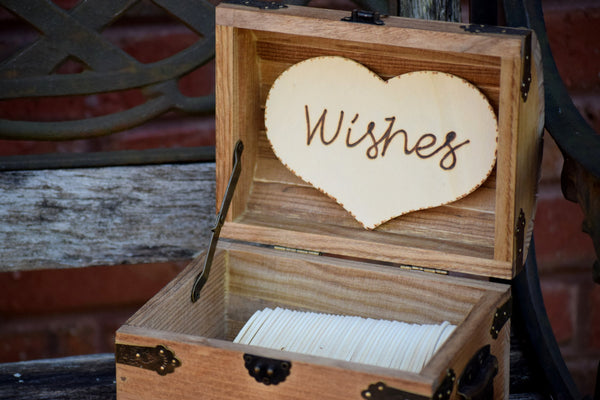 Wedding Wishes/Advice Chest