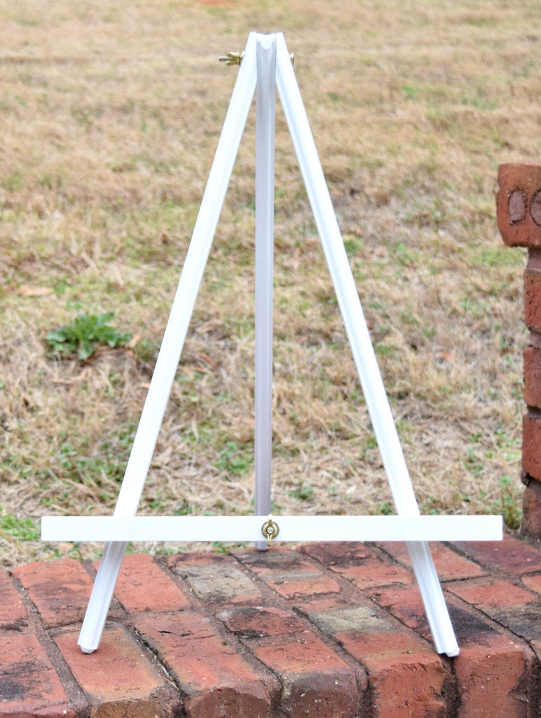 Large White Table Top Easel