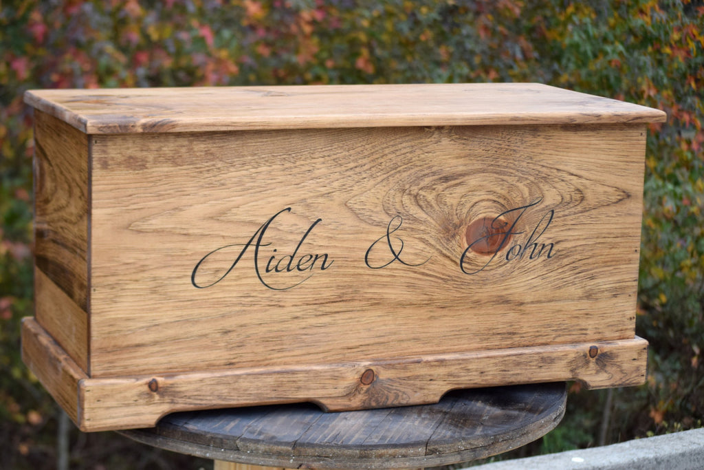 ... 36  x 16  x 16  Personalized Toy Box with Inside Lid Engraving Included ... & Personalized Kids Toy Box - Wood Toy Box - Gift u2013 Country Barn Babe Aboutintivar.Com