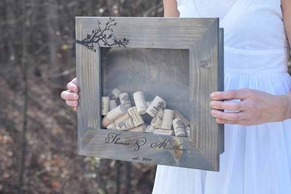 Wall Hanging Wine Cork Holder