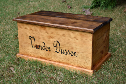 Personalized Kids 23x13x13 Toy Box