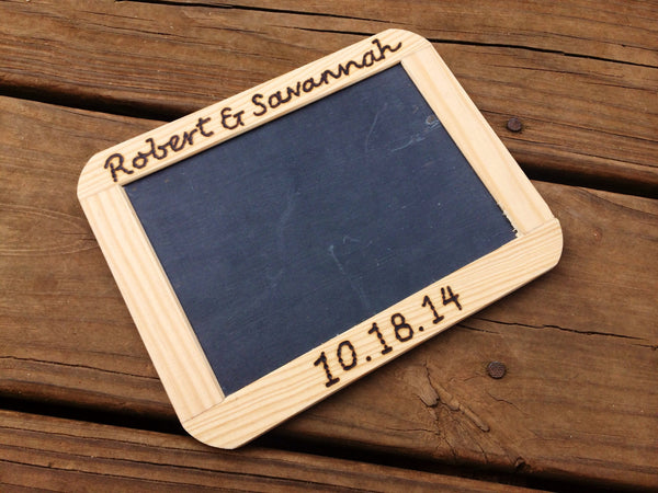 Personalized Framed Chalkboard