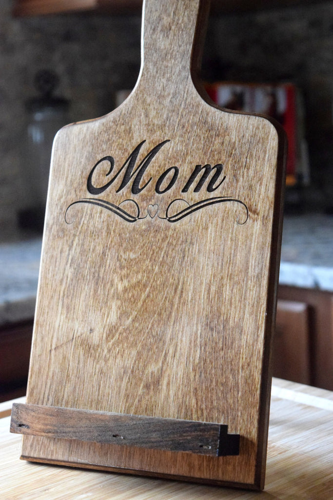 Tablet Holder Cookbook Holder Personalized Gifts