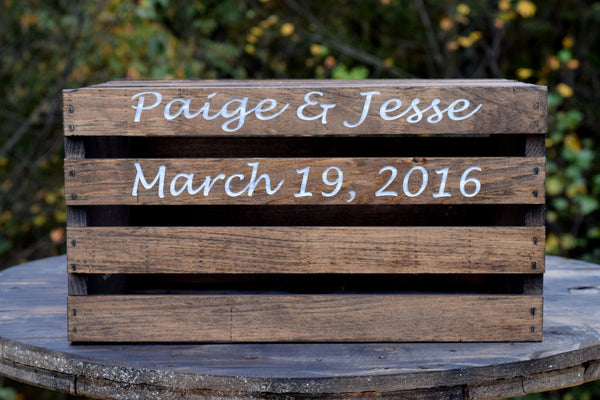 Personalized Cake Crate