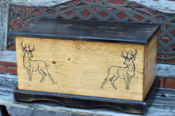 23x13x13 Buck Inspired Toy Box
