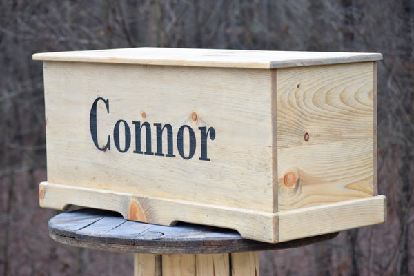 36x16x16 Personalized Toy Box