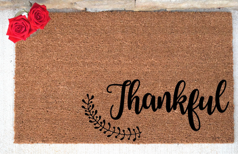 Thankful Doormat