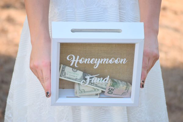 Honeymoon Fund Shadow Box