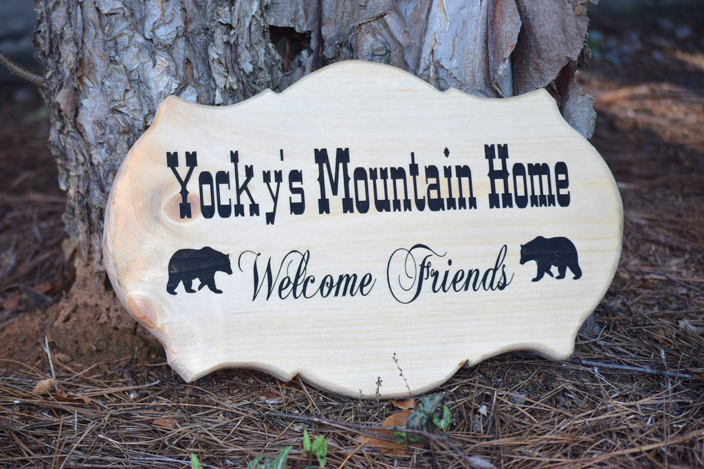 Personalized Front Porch Plaque