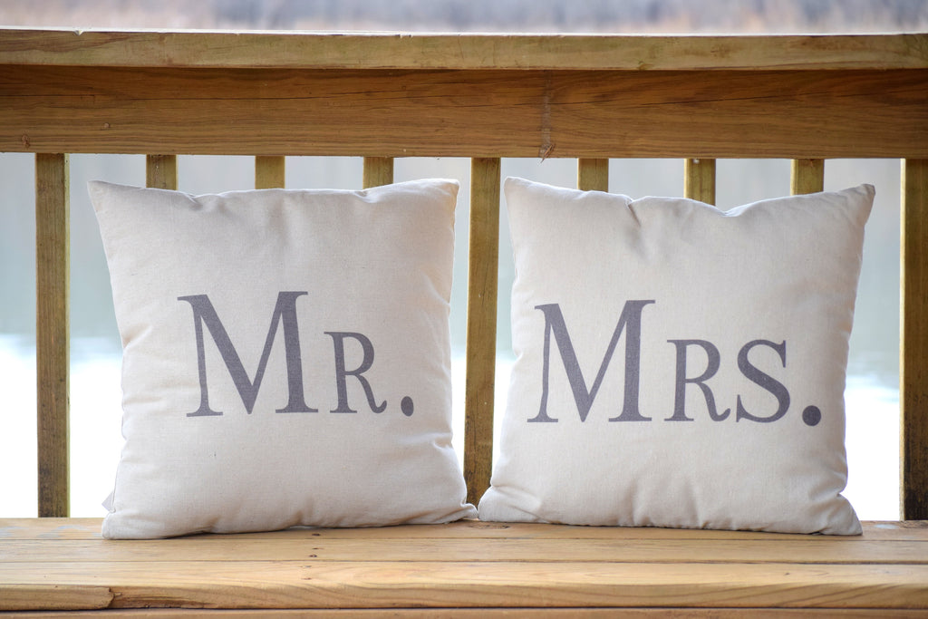 Decorative Pillows Mr And Mrs 4040 X 4040 Inches Country Barn Babe Impressive Mr And Mrs Decorative Pillows