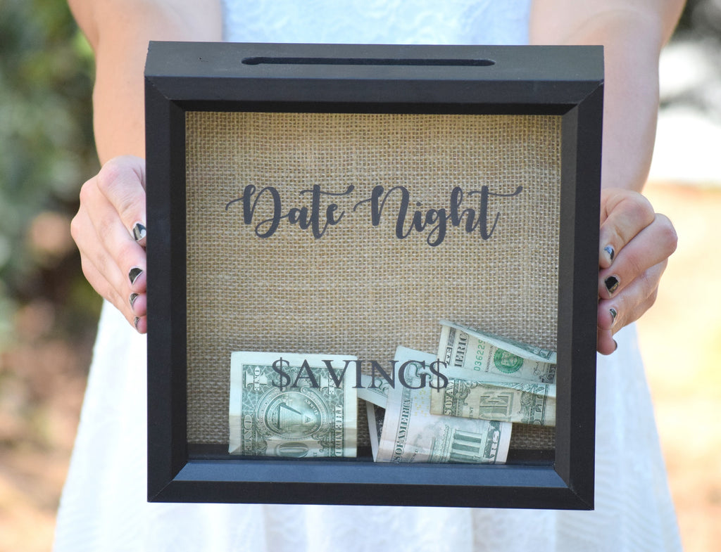 Date Night Savings Shadow Box