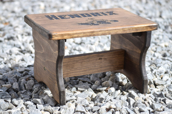 Wood Kids Stepping Stool