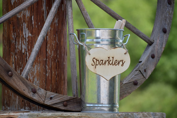 "Tall 10"" Sparklers Pail"