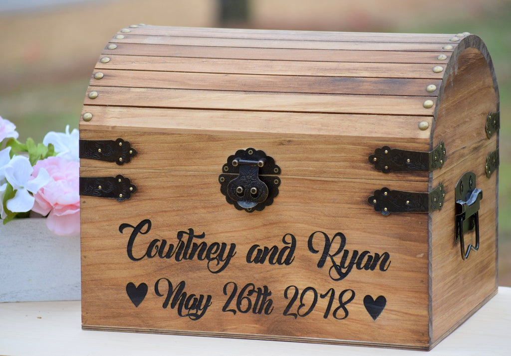 Rustic Wedding Decor Wedding Cards Box Card Box