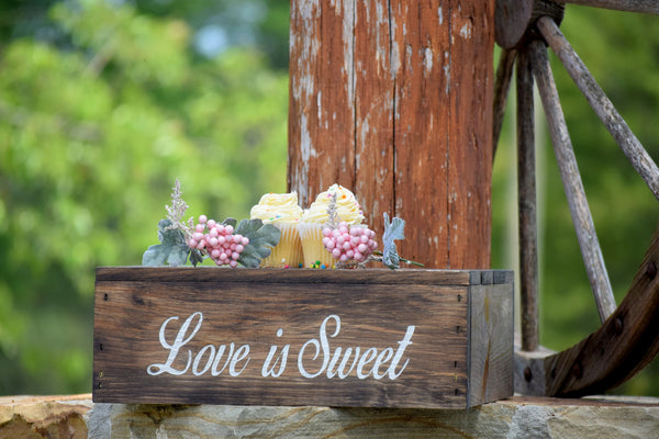 Love is Sweet Cake Stand