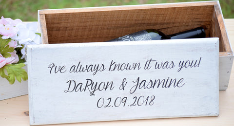 Ceremony Wedding Wine Box