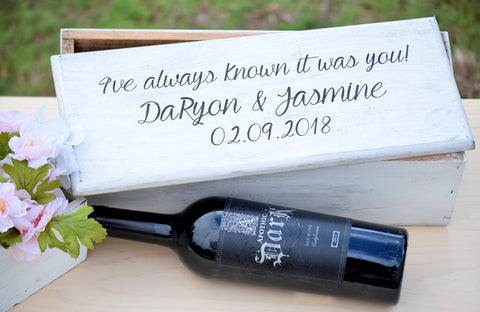 Ceremony Wine Box