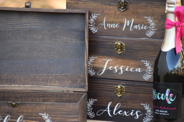 Personalized Bridal Party Gift Box