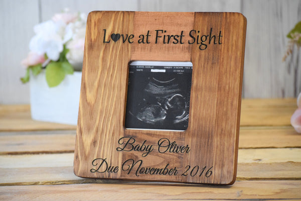 Square Ultrasound Picture Frame