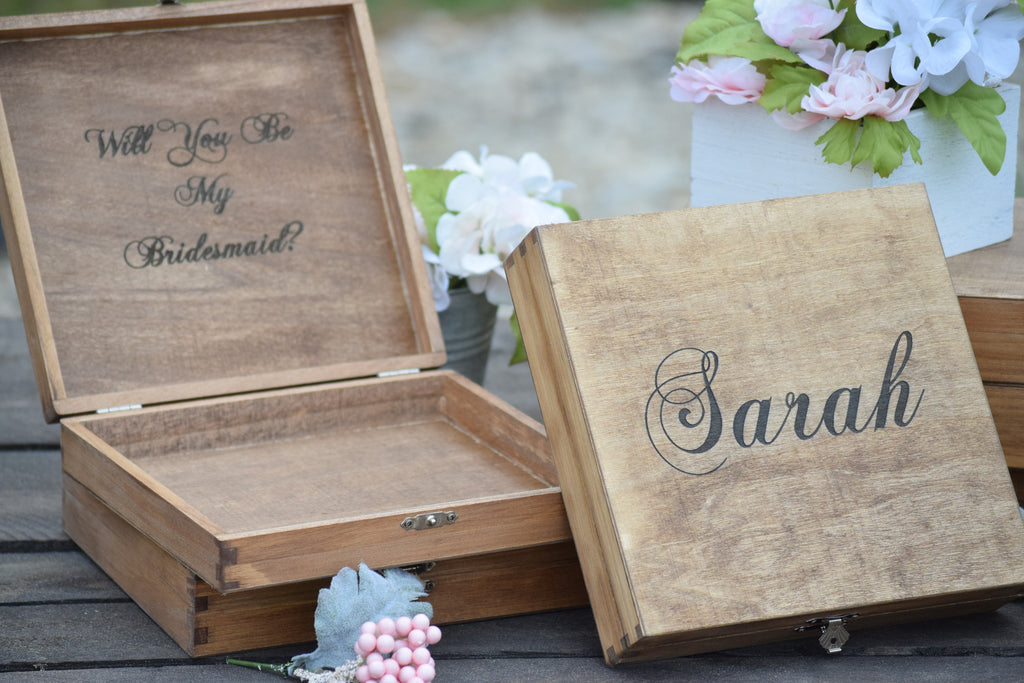 Will You Be My Bridesmaid Box - Bridal Party Gift Box