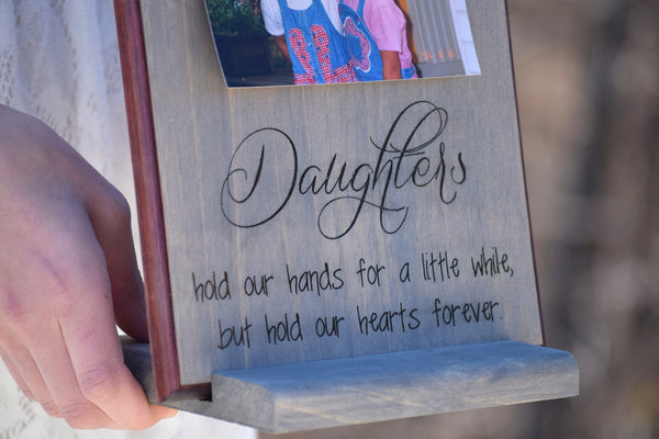 Personalized Picture Frame Board with Engraving