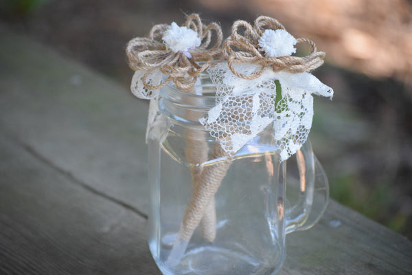 Twine Pen with Lace
