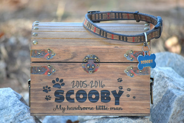 Pet Memory Keepsake Chest