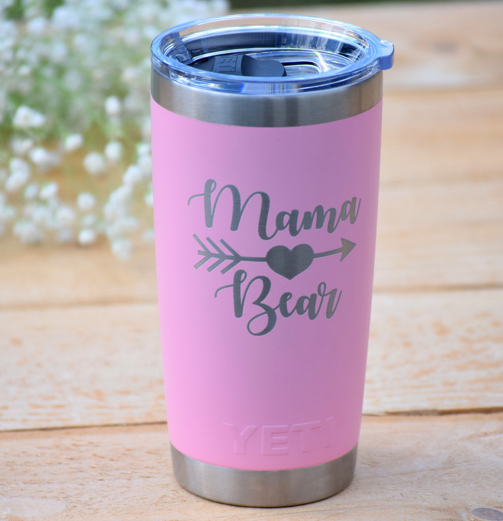 9abf76cead3 Mama Bear Authentic Yeti Rambler