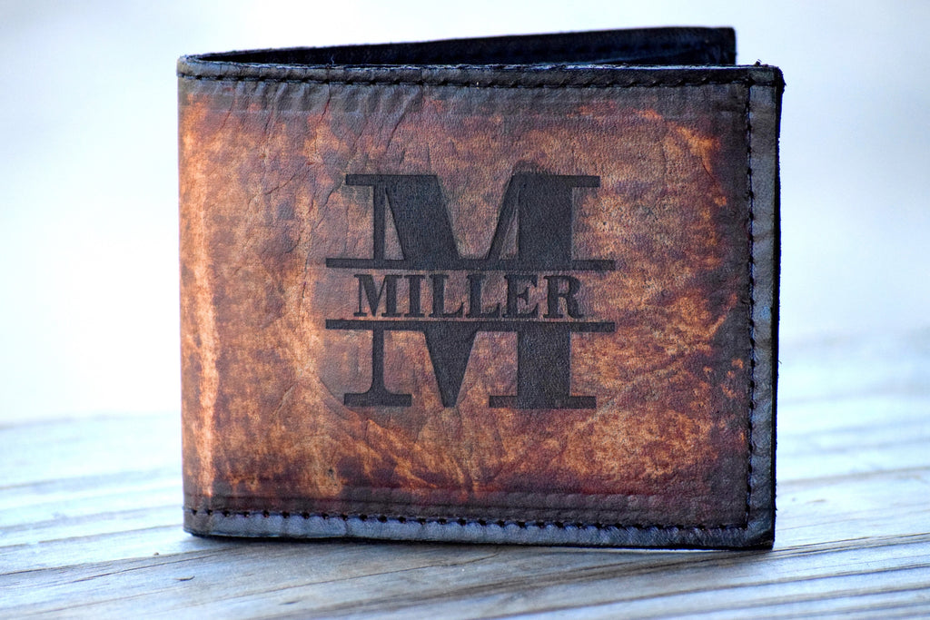 20a593d849f4d Personalized Leather Wallet Personalized Leather Wallet Personalized Wallet  – Country Barn Babe