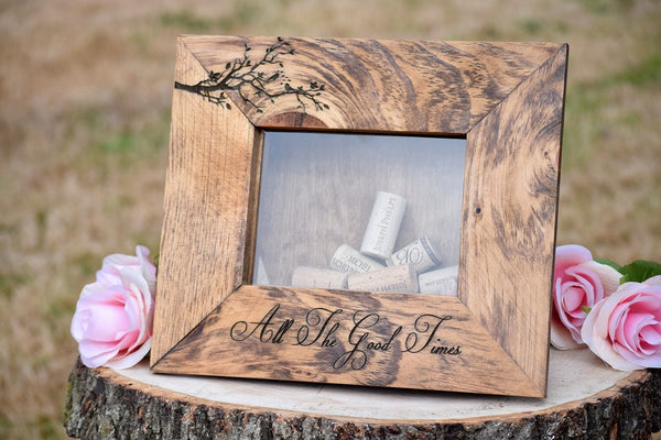 Personalized Wine Cork Holder - Wine Cork Guest Book