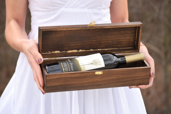 Personalized Ceremony Bottle Box