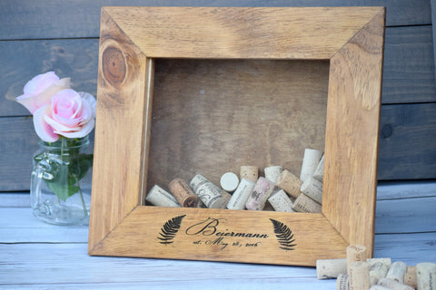 Fern Themed Wine Cork Holder