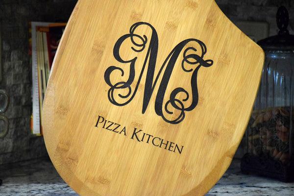 Personalized Pizza Paddle