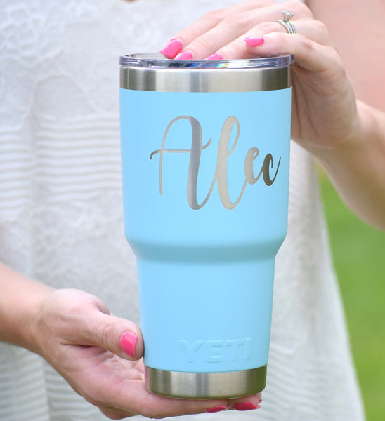 Personalized Authentic Yeti Rambler Tumbler