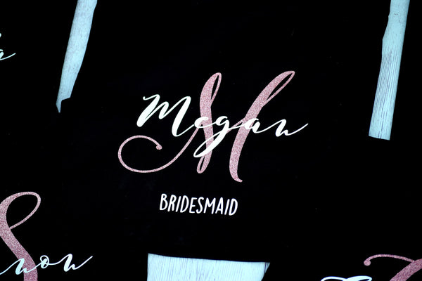 Personalized Bridesmaid Bag