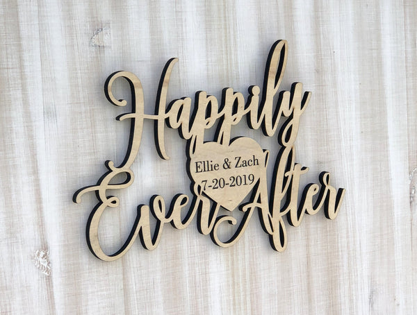 Happily Ever After Guestbook Canvas