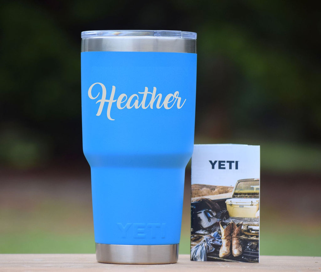 Personalized Authentic Yeti Rambler