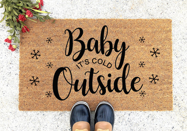 Its Cold Outside Doormat