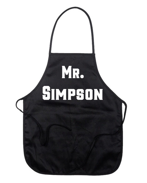 Personalized Mr Apron