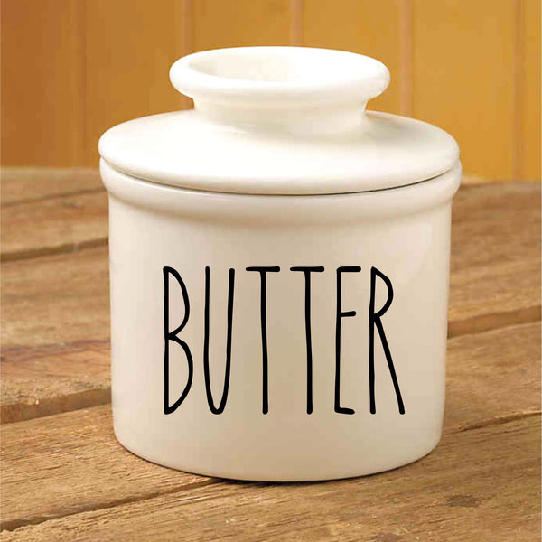 Porcelain Butter Kepper