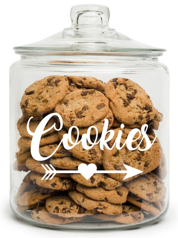 Half Gallon Glass Cookie Jar