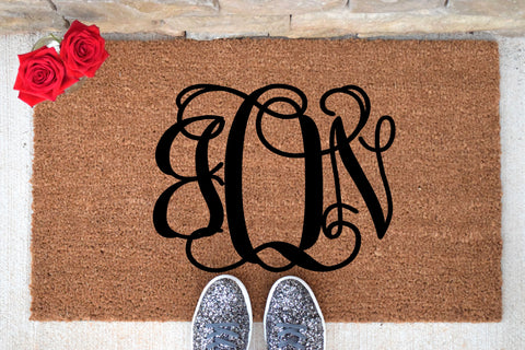 Monogram Personalized Doormat