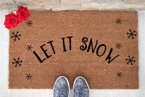 Let it Snow Doormat