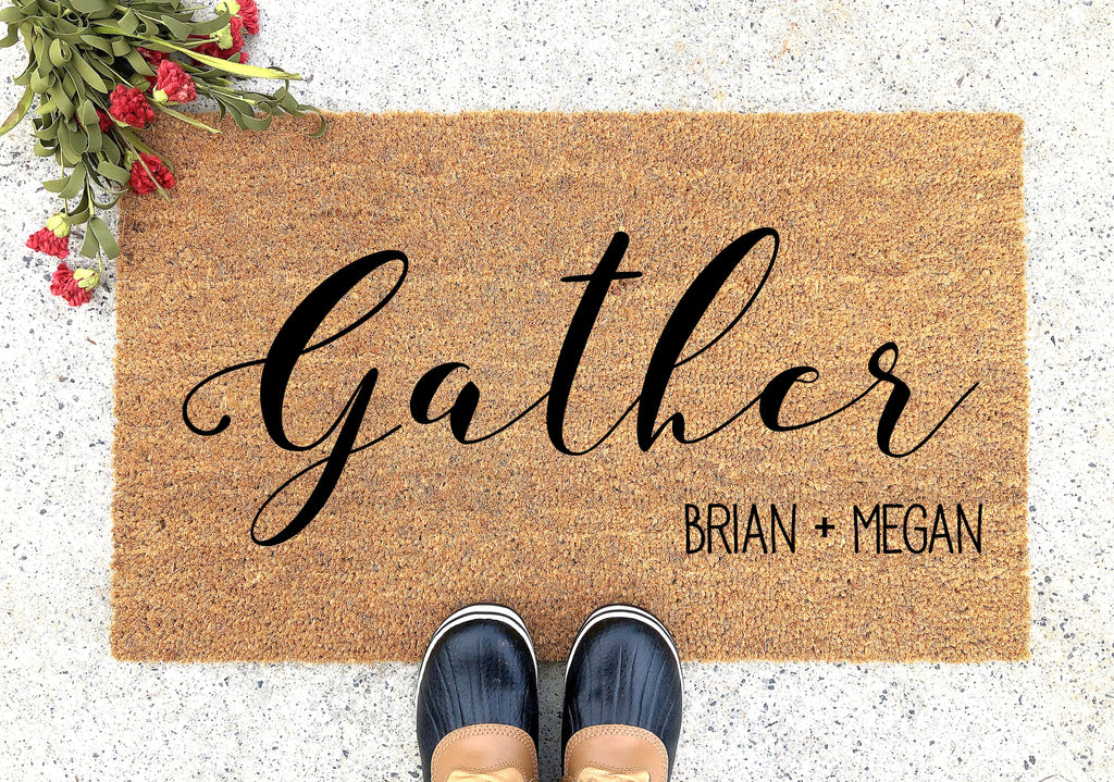 Gather Here Doormat