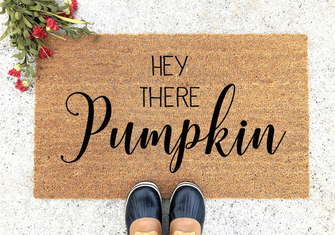 Hey There Pumpkin Doormat